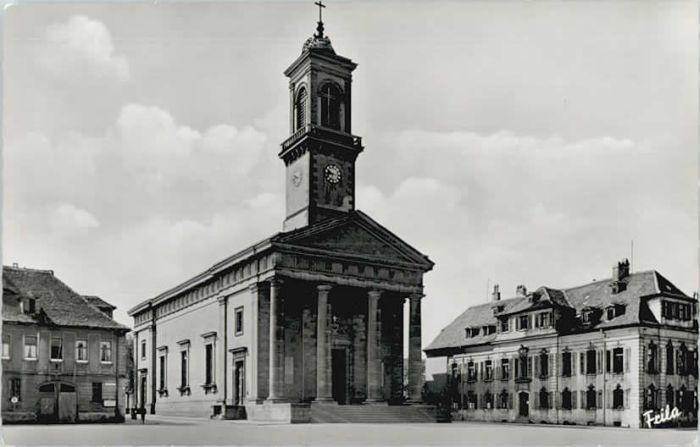 Ansbach Mittelfranken Ansbach St. Ludwigs Kirche  * 1955 / Ansbach /Ansbach LKR