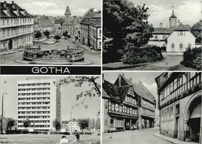Gotha Thueringen Gotha Rathaus Marktplatz  * / Gotha /Gotha LKR