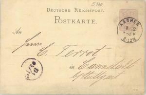 Aachen Aachen [Stempelabschlag] x 1883 / Aachen /Aachen LKR