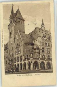 Aachen Aachen Rathaus x 1908 / Aachen /Aachen LKR