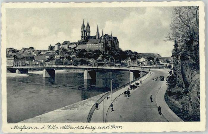 Meissen Elbe Sachsen Meissen Albrechtsburg x / Meissen /Meissen LKR