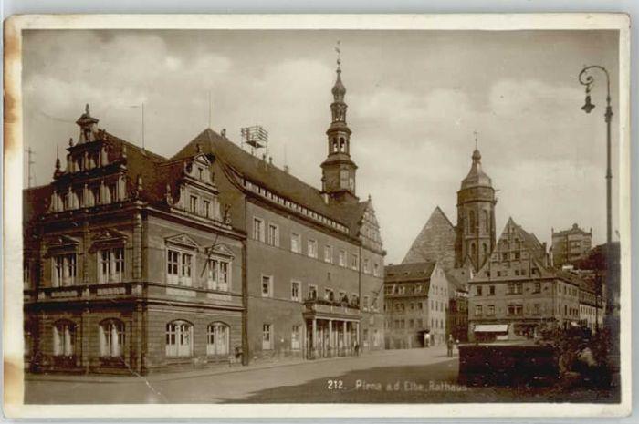 Pirna Pirna Rathaus x / Pirna /Saechsische Schweiz-Osterzgebirge LKR