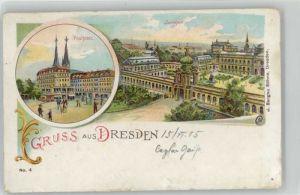 Dresden Dresden Postplatz Zwinger x / Dresden Elbe /Dresden Stadtkreis