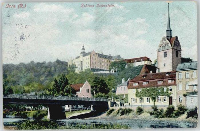 Gera Gera Schloss Osterstein x / Gera /Gera Stadtkreis