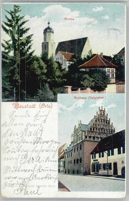 Neustadt Orla Neustadt Orla Rathaus x / Neustadt Orla /Saale-Orla-Kreis LKR