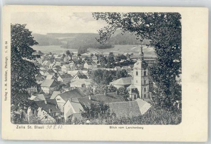 Zella-Mehlis Zella-Mehlis St. Blasii * / Zella-Mehlis /Schmalkalden-Meiningen LKR