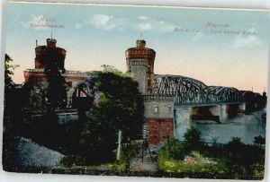 Mainz Rhein Mainz Eisenbahnbruecke * / Mainz Rhein /Mainz Stadtkreis