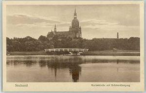 Stralsund Mecklenburg Vorpommern Stralsund Marienkirche * / Stralsund /Stralsund Stadtkreis