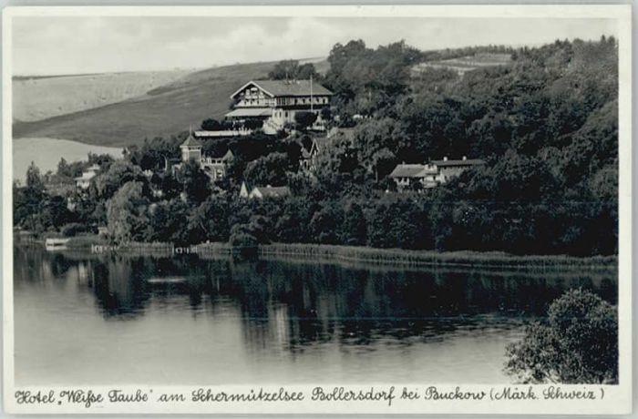 70126478 Bollersdorf Bollersdorf Schermuetzelsee Hotel Weisse Taube * Oberbarnim Bollersdorf