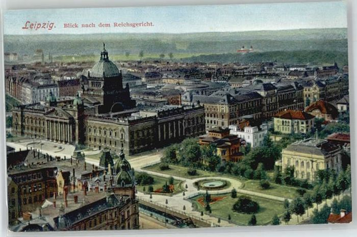 Leipzig Leipzig Reichsgericht * / Leipzig /Leipzig Stadtkreis