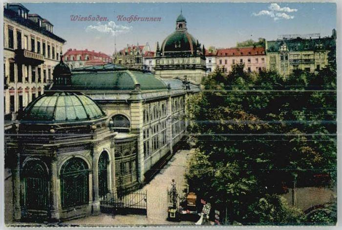 Wiesbaden Wiesbaden Kochbrunnen * / Wiesbaden /Wiesbaden Stadtkreis