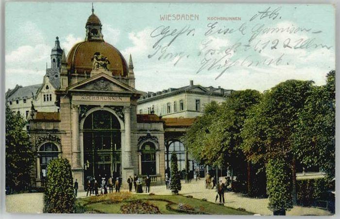 Wiesbaden Wiesbaden Kochbrunnen x / Wiesbaden /Wiesbaden Stadtkreis