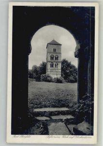 Bad Hersfeld Bad Hersfeld Stiftsruine Glockenturm x / Bad Hersfeld /Hersfeld-Rotenburg LKR