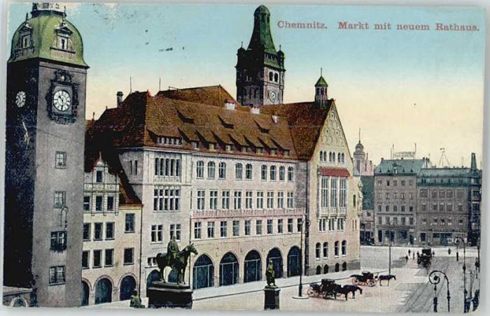 Chemnitz Chemnitz Markt Rathaus x / Chemnitz /Chemnitz Stadtkreis