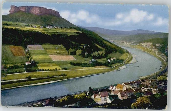 Koenigstein Saechsische Schweiz Koenigstein Saechsische Schweiz Lilienstein * / Koenigstein Saechsische Schweiz /Saechsische Schweiz-Osterzgebirge LKR
