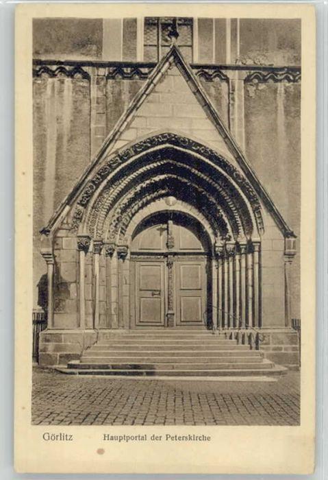 Goerlitz Sachsen Goerlitz Peterskirche * / Goerlitz /Goerlitz LKR