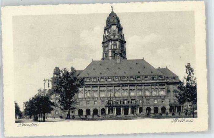 Dresden Dresden Rathaus * / Dresden Elbe /Dresden Stadtkreis