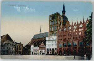 Stralsund Mecklenburg Vorpommern Stralsund Rathaus * / Stralsund /Stralsund Stadtkreis