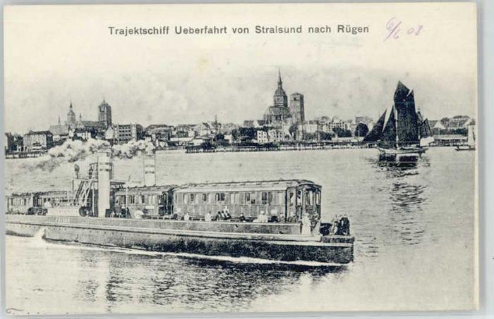 Stralsund Mecklenburg Vorpommern Stralsund Trajektfaehre * / Stralsund /Stralsund Stadtkreis