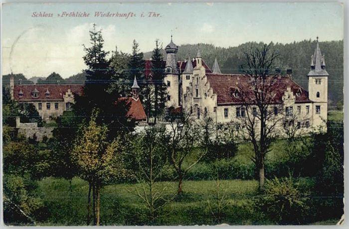 Hummelshain Hummelshain Schloss Froehliche Wiederkunft x / Hummelshain /Saale-Holzland-Kreis LKR