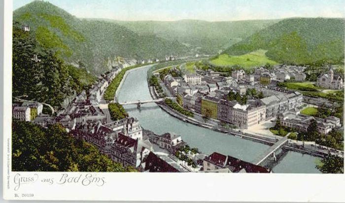 Bad Ems Bad Ems  * / Bad Ems /Rhein-Lahn-Kreis LKR