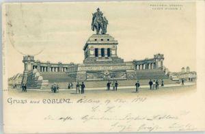 Koblenz Rhein Koblenz Kaiser Wilhelm Denkmal  x / Koblenz /Koblenz Stadtkreis