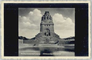 Leipzig Leipzig Voelkerschlacht Denkmal  * / Leipzig /Leipzig Stadtkreis