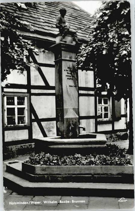 Holzminden Weser Holzminden Wilhelm-Raabe-Brunnen * / Holzminden /Holzminden LKR