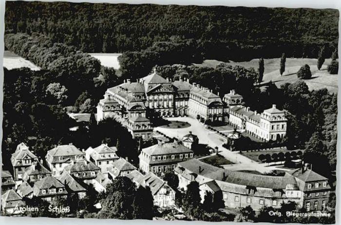 Bad Arolsen Bad Arolsen Fliegeraufnahme Schloss * / Bad Arolsen /Waldeck-Frankenberg LKR