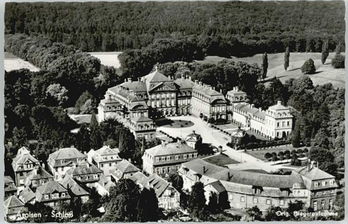 Bad Arolsen Bad Arolsen Fliegeraufnahme Schloss x / Bad Arolsen /Waldeck-Frankenberg LKR