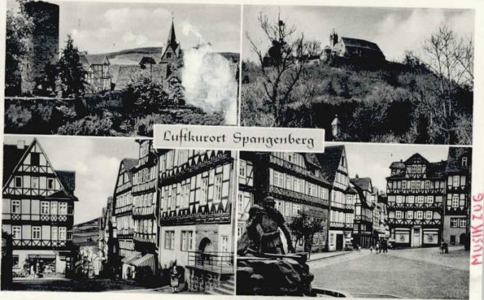 Spangenberg Hessen Spangenberg  * / Spangenberg /Schwalm-Eder-Kreis LKR
