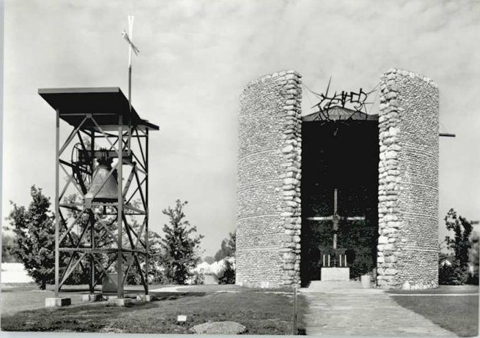 Dachau Dachau Todesangst Christi Kapelle * / Dachau /Dachau LKR