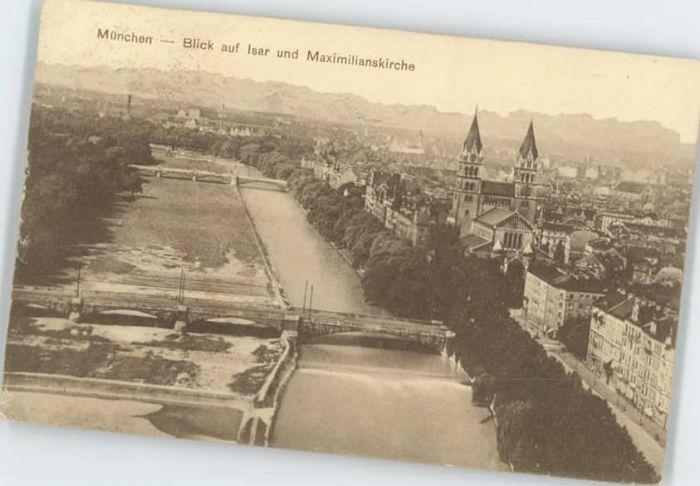 Muenchen Muenchen Maximilians Kirche  x / Muenchen /Muenchen LKR