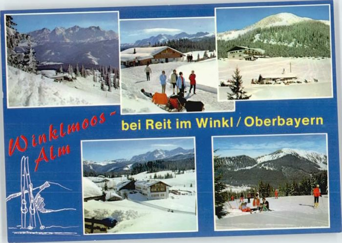 Reit Winkl Reit Winkl Gasthof Winklmoosalm * / Reit im Winkl /Traunstein LKR