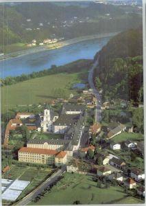 Linz Donau Stift Wilhering Zisterzienserabtein Fliegeraufnahme / Linz /Linz-Wels