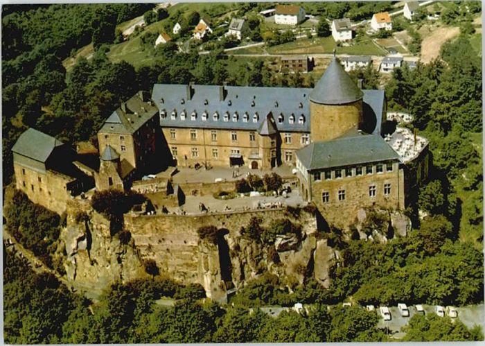 Edersee Edersee Schloss Waldeck Fliegeraufnahme * / Edertal /Waldeck-Frankenberg LKR