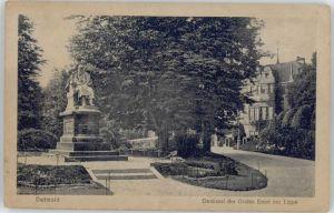 Detmold Detmold Denkmal Graf Ernst zur Lippe * / Detmold /Lippe LKR