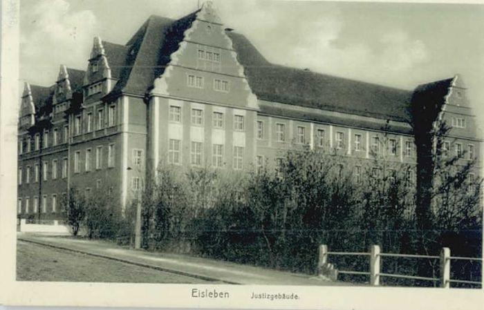 Eisleben Eisleben Justizgebaeude x / Eisleben /Mansfeld-Suedharz LKR
