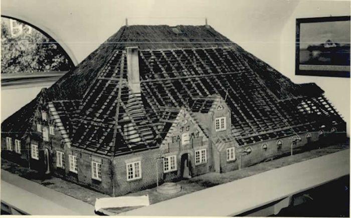 St Peter-Ording St Peter-Ording Eiderstedter Heimatmuseum Modell * / Sankt Peter-Ording /Nordfriesland LKR