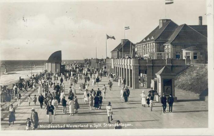 Westerland Sylt Westerland Strand x / Westerland /Nordfriesland LKR