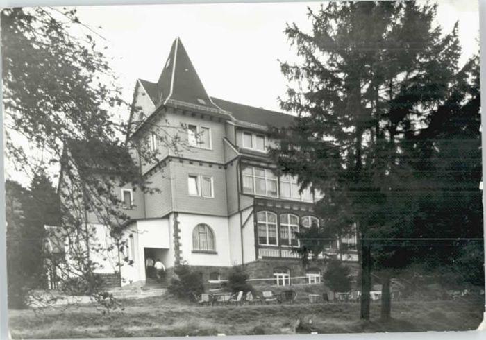 Friedrichroda Friedrichroda Ferienheim Spiessberghaus x / Friedrichroda /Gotha LKR