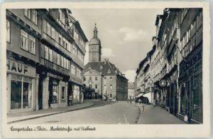 Bad Langensalza Bad Langensalza Marktstrasse Rathaus x / Bad Langensalza /Unstrut-Hainich-Kreis LKR
