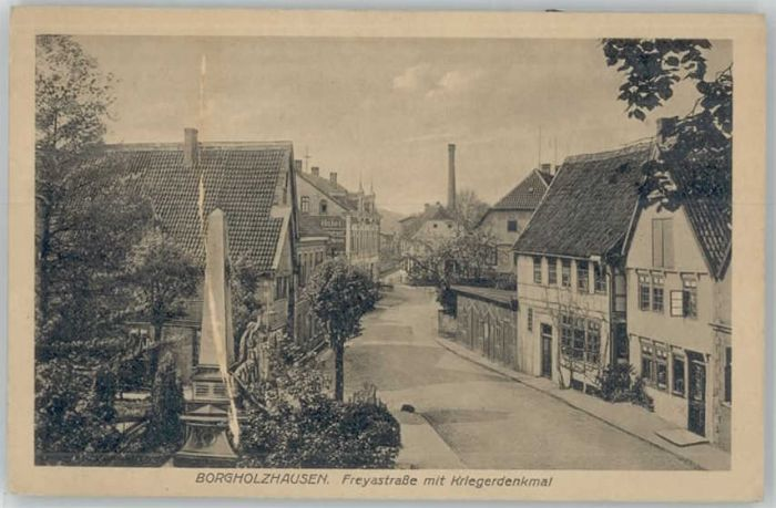 Borgholzhausen Borgholzhausen Freyastrasse * / Borgholzhausen /Guetersloh LKR