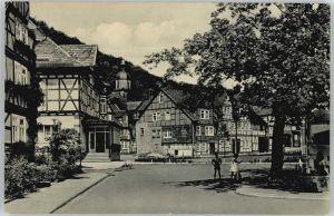 Bad Sooden-Allendorf Bad Sooden-Allendorf Brunnenplatz Kurhaus-Hotel x / Bad Sooden-Allendorf /Werra-Meissner-Kreis LKR