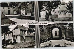 Pewsum Pewsum Burg x / Krummhoern /Aurich LKR
