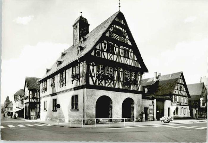 Gross-Gerau Gross-Gerau Rathaus  * / Gross-Gerau /Gross-Gerau LKR