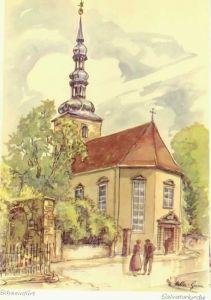 Schweinfurt Schweinfurt Salvatorkirche KuenstlerMueller Gera * / Schweinfurt /Schweinfurt LKR