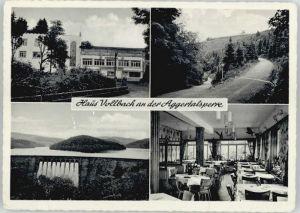 Gummersbach Gummersbach Haus Vollbach Aggertalsperre x / Gummersbach /Oberbergischer Kreis LKR