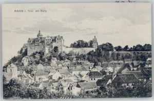 Ranis Ranis Burg   * / Ranis /Saale-Orla-Kreis LKR