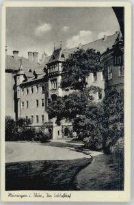 Meiningen Thueringen Meiningen Schlosshof * / Meiningen /Schmalkalden-Meiningen LKR